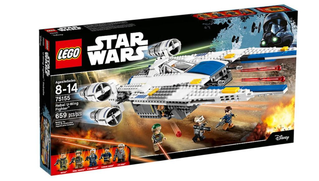 LEGO Rebel U-Wing Fighter 75155 Box front