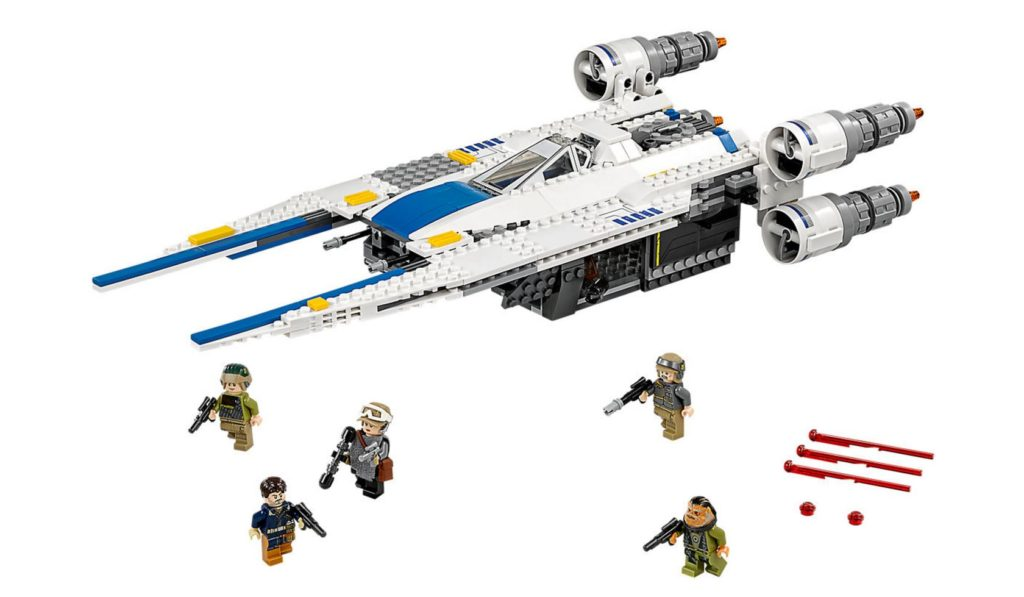 LEGO Rebel U-Wing Fighter 75155 Built with minifigures